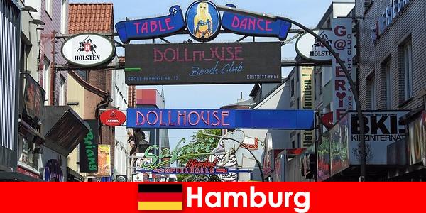 Hamburg Reeperbahn – nocne burdele i usługi towarzyskie dla turystyki seksualnej
