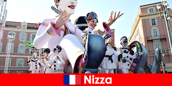 Atrakcja turystyczna w Nicei z dziećmi i wspaniałe atrakcje