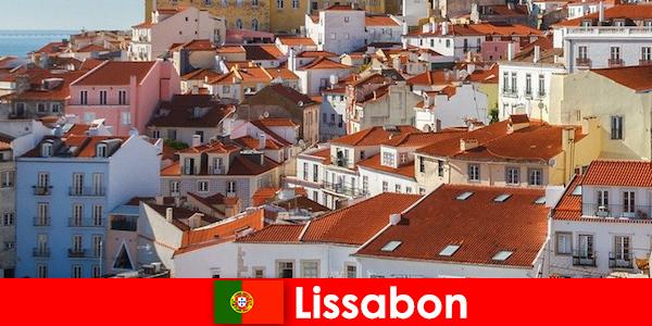 Lizbona to najpopularniejszy cel podróży w nadmorskim mieście z plażą i pysznym jedzeniem