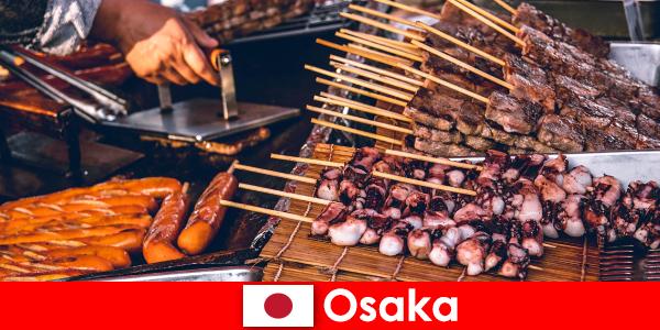 Osaka to kuchnia Japonii i przystań dla każdego, kto szuka wakacyjnej przygody