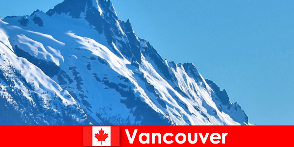Miasto Vancouver w Kanadzie jest głównym celem turystyki wysokogórskiej