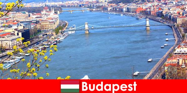 Budapeszt na Węgrzech to popularna wskazówka dotycząca wakacji na kąpiel i wellness