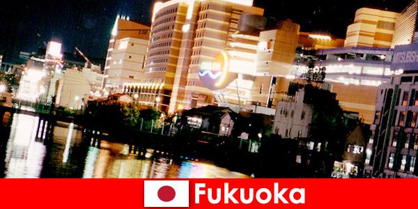Liczne dyskoteki, kluby nocne i restauracje w Fukuoce to najlepsze miejsce spotkań wczasowiczów