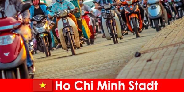 Ho Chi Minh City to zawsze przyjemność dla rowerzystów i miłośników sportu