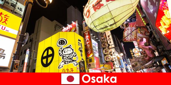 Rozrywka komediowa jest zawsze głównym tematem dla obcokrajowców w Osace