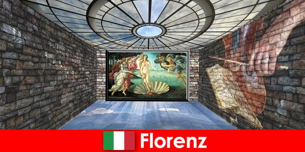 Wycieczka po mieście do Florencji we Włoszech dla kochających sztukę gości dawnych mistrzów