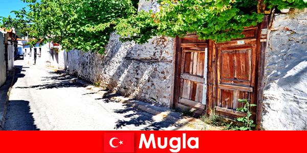 Malownicze wioski i gościnni mieszkańcy witają turystów w Mugla Turcja