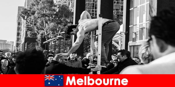 Sztuka i kultura dla kreatywnych urlopowiczów w Melbourne w Australii