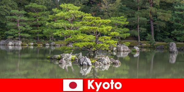 Japońskie ogrody zapraszają zagranicznych gości na relaksujące spacery po Kioto