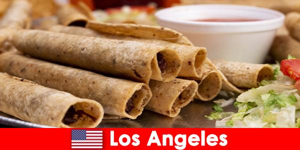 Zagraniczni goście mogą spodziewać się urozmaiconego wydarzenia kulinarnego w najlepszych restauracjach w Los Angeles w Stanach Zjednoczonych