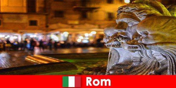 Wycieczka autobusowa dla tygodniowych gości przez wspaniałe miasto Rzym we Włoszech