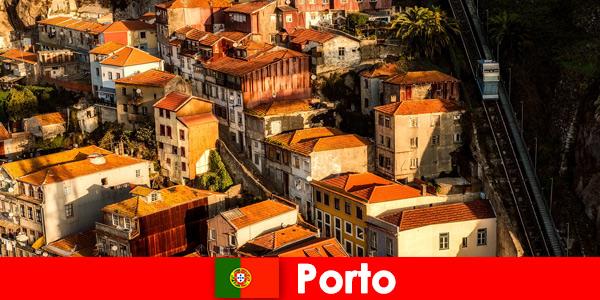Weekendowy spacer po starym mieście Porto Portugal