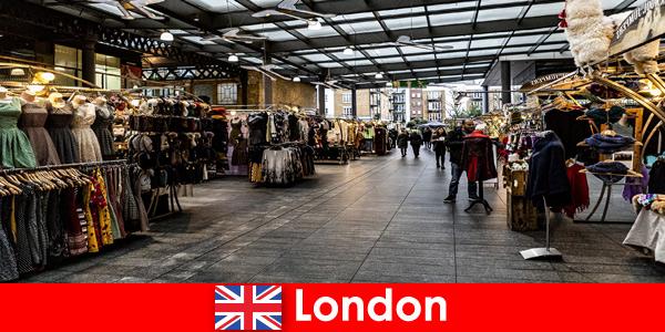Londyn Anglia to najlepszy adres dla turystów robiących zakupy