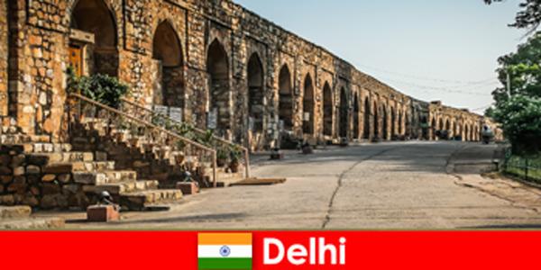 Prywatne wycieczki po mieście Delhi w Indiach dla zainteresowanych urlopowiczów kultury