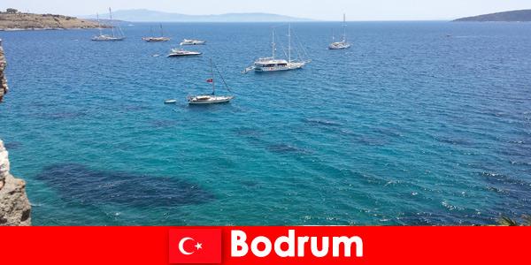 Luksusowe wakacje dla obcokrajowców w pięknych zatokach w Bodrum Turcja