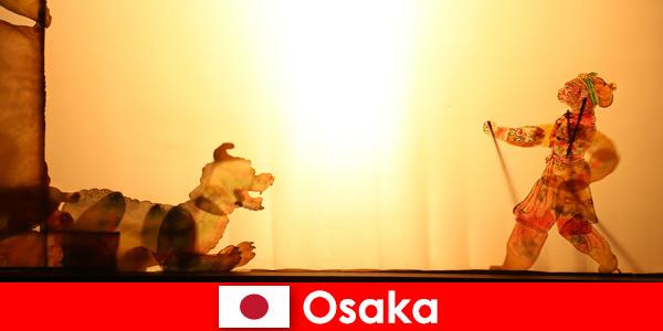 Osaka Japan zabiera turystów z całego świata w komediową podróż rozrywkową