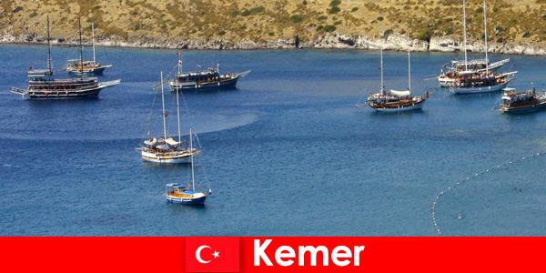 Wycieczka przygodowa łodzią w Kemer Turcja dla zakochanych par i rodzin