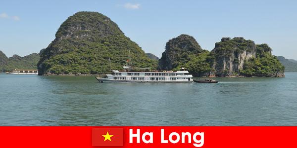 Wielodniowe rejsy dla grup wycieczkowych są bardzo popularne w Ha Long Wietnam