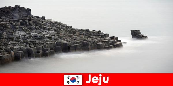 Cudzoziemcy odkrywają popularne wycieczki w Jeju w Korei Południowej
